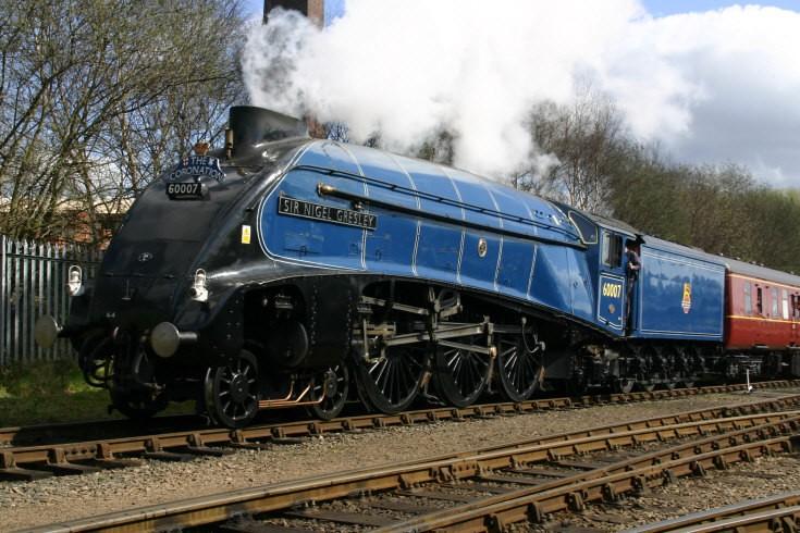 60007 Sir Nigel Gresley at Barrow Hill