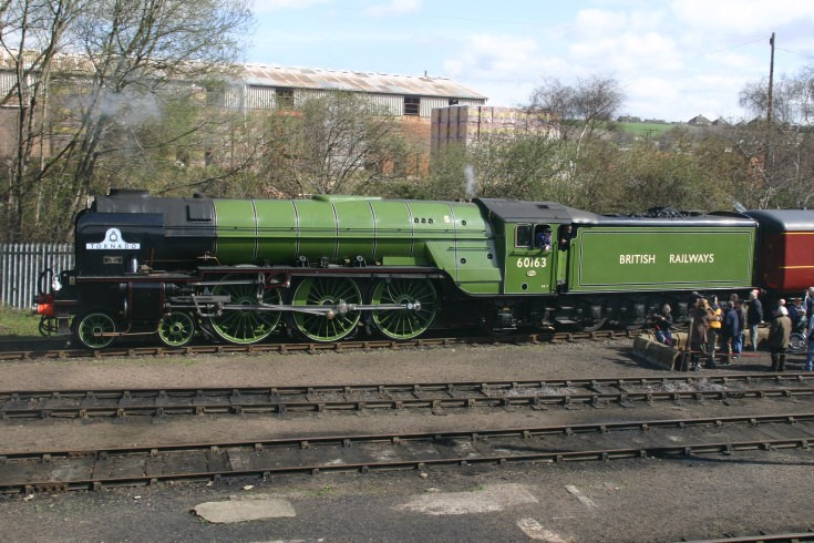 60163 Tornado at Barrow Hill