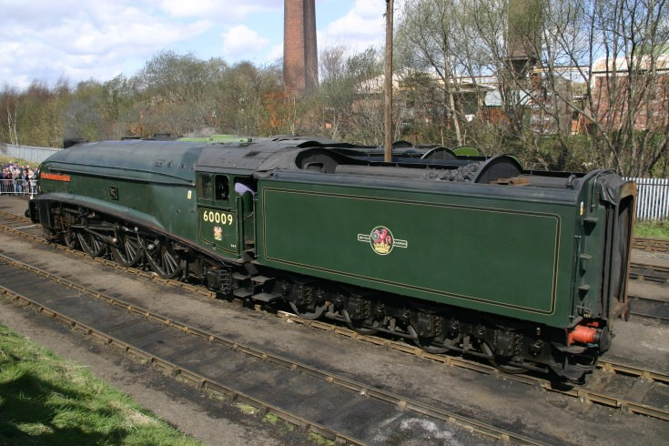 Loco 60009 Union of South Africa at Barrowhill