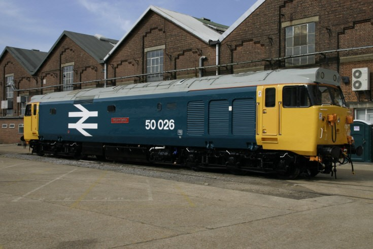 50026 at Eastleigh