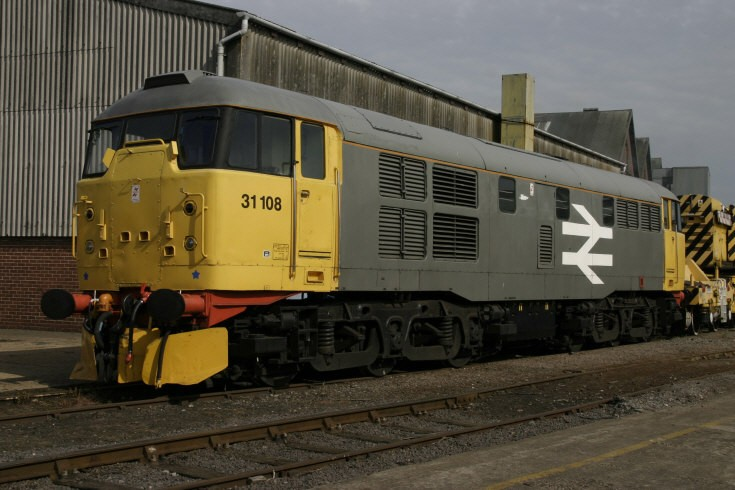 31108 at Eastleigh
