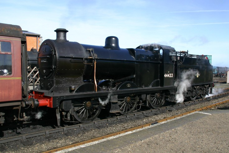 Photo of steam locomotive 44422