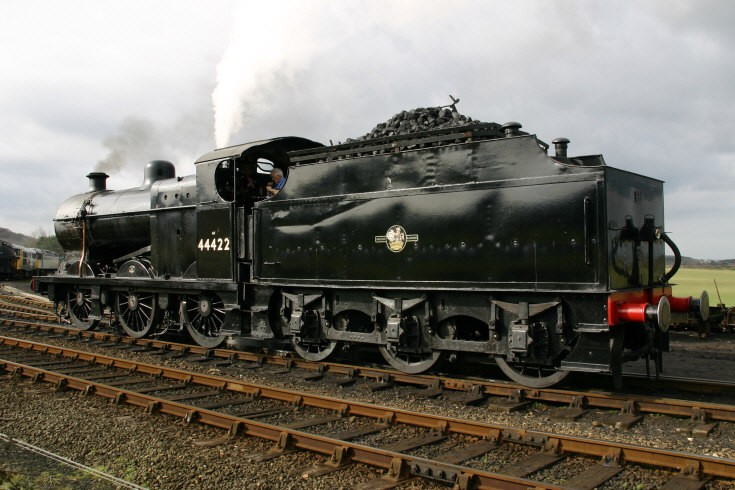 Fowler steam locomotive 44422