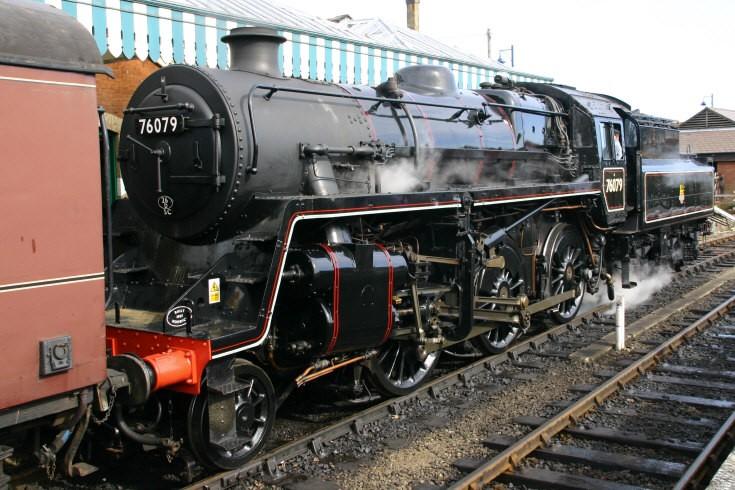 76079 on the North Norfolk Railway