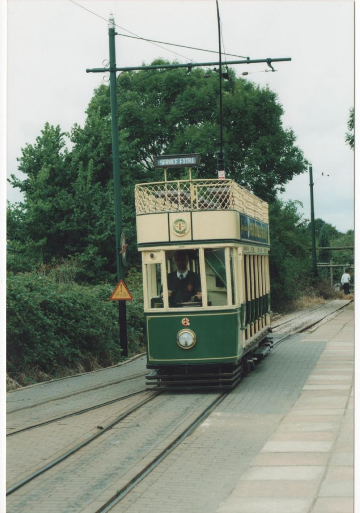 Number 6 on the Seaton Tramway