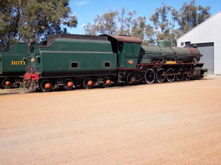 Steam engine Hotham Valley Australia