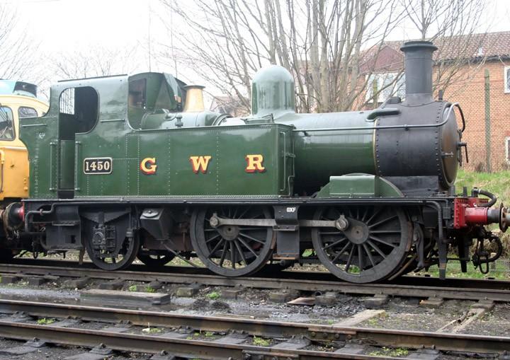 GWR 0-4-2T 14XX Class no. 1450