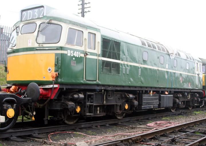 D5401, Type 2, Class 27 diesel-electric