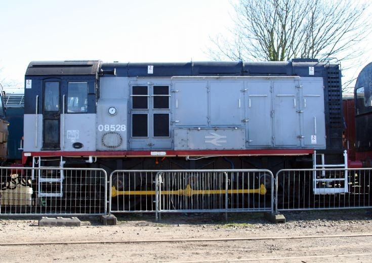 Class 08 shunter D3690/08528