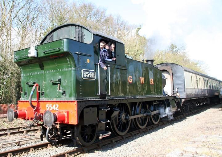 GWR 2-6-2T Paririe tank 5542