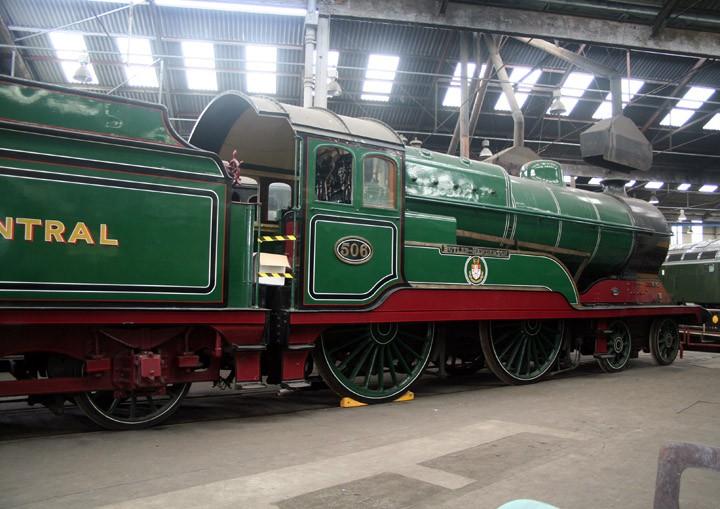 GCR 4-4-0 Director Class 506