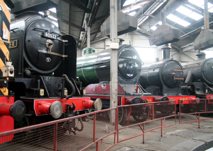 Barrow Hill Roundhouse line-up
