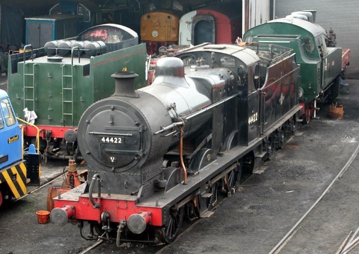 Fowler Class 4F 0-6-0 44422