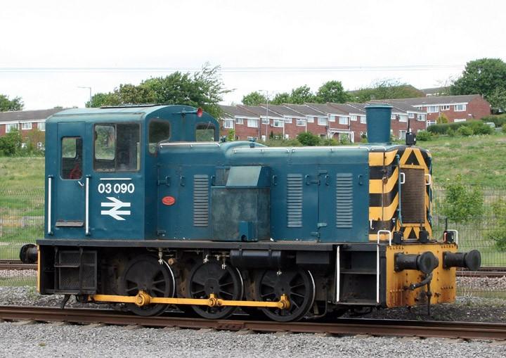 03090 Class 03 Drewry shunter
