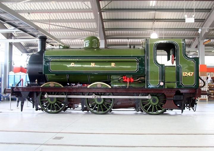 GNR 0-6-0ST Class J52 No. 1247