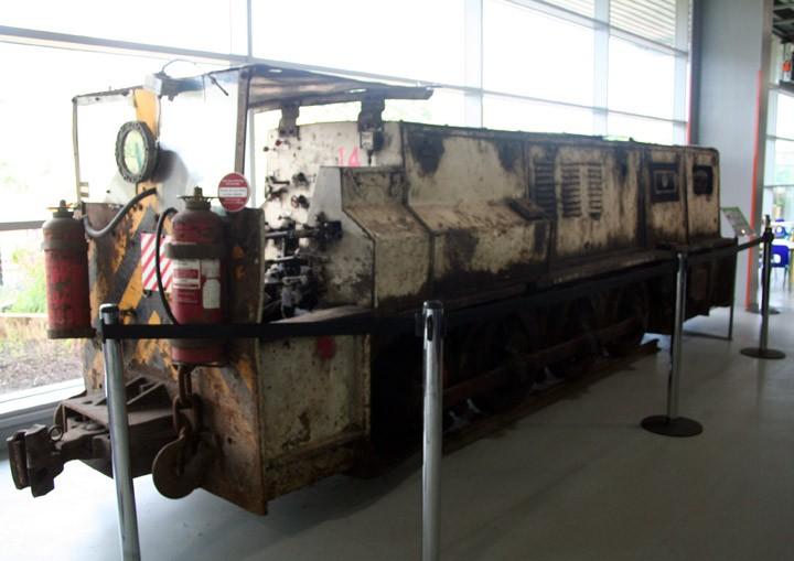 Underground Mining Locomotive No. 14