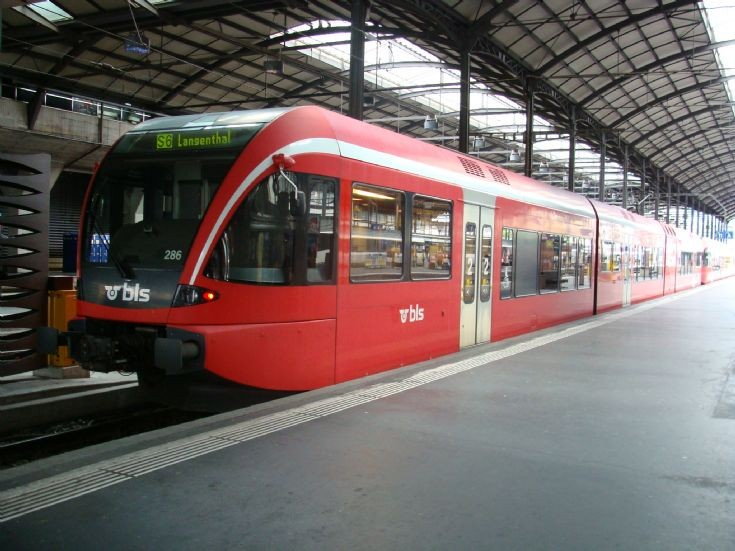 Regional Train Line S6 Luzern - Langenthal