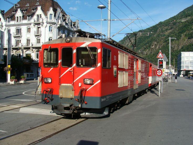 Rhaetian Railway - Rhätische Bahn Switzerland