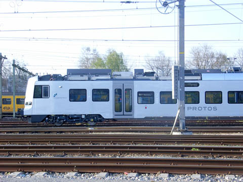 New Protos train standing in Eindhoven