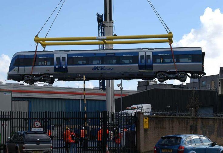 NIR Depot York Street, Belfast