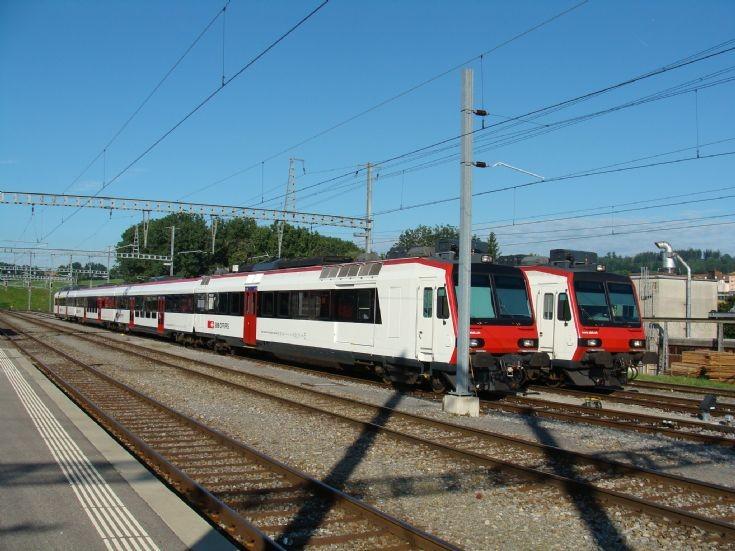SBB-CFF Switzerland - Romont Station