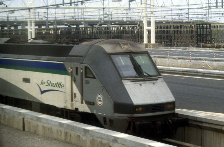 Eurotunnel Shuttle train (2)