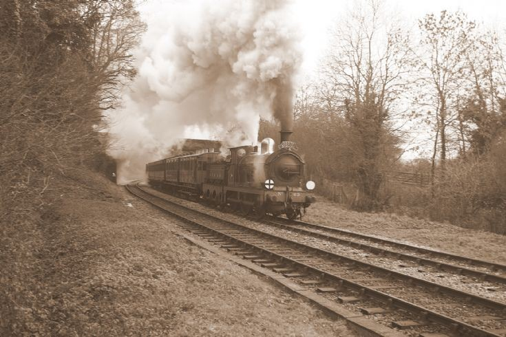 Bluebell Railway Christmas special