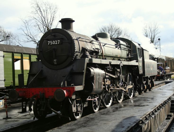 Photo of 75027 at Bluebell Railway