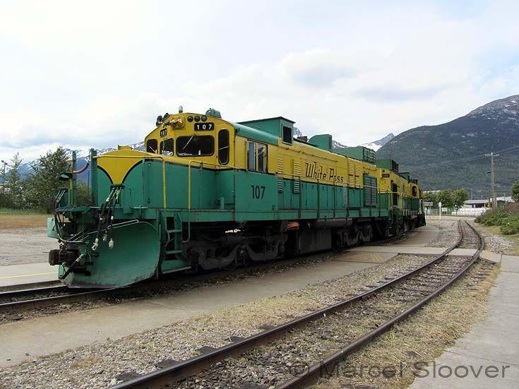 Montreal built diesel locomotive