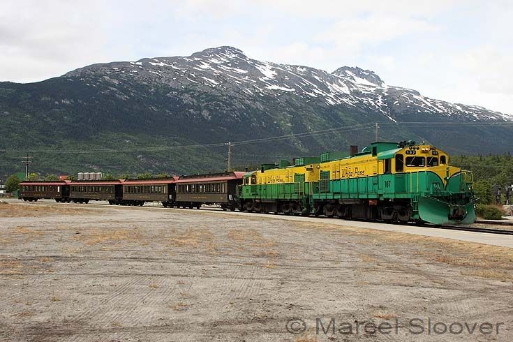 White Pass in Skagway
