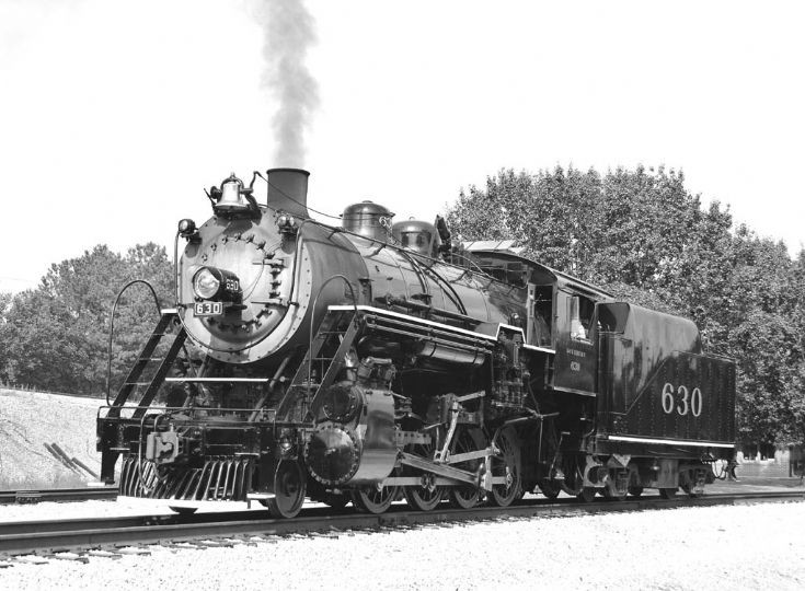Southern Rwy. loco 630 in Chattanooga, TN.