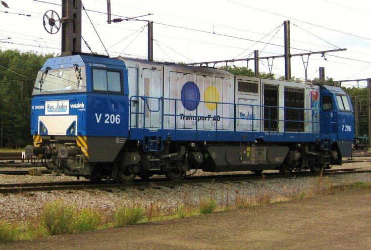 Rurtalbahn V 206 Vossloh G 2000BB