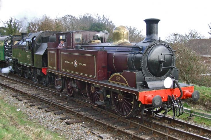 Metropolitan No.1 at Ropley