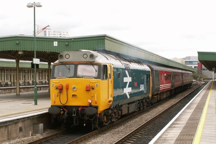 50049 at Cardiff Central