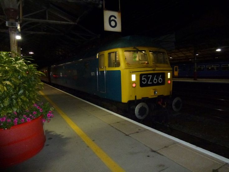 Platform 6 Crewe Station