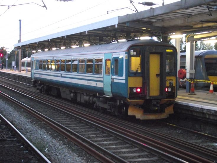 153322 at Ipswich on 26th Sept 2011