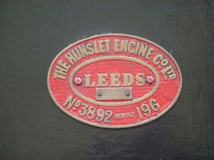 The works plate from 68013