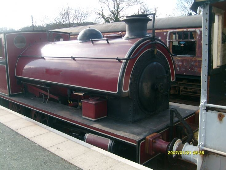 3437 Isabel at Cambrian Heritage Railways