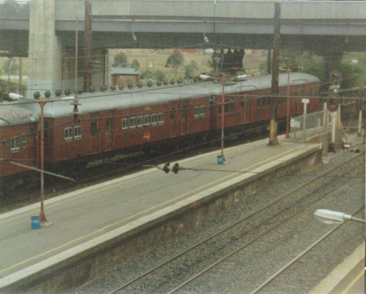 Electric Commuter Train at Johanesburg