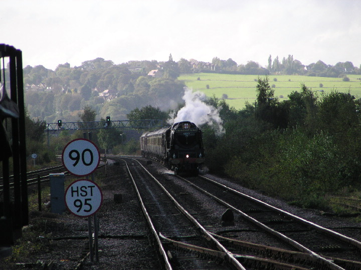 (4)6233 Duchess of Sutherland at Chesterfield