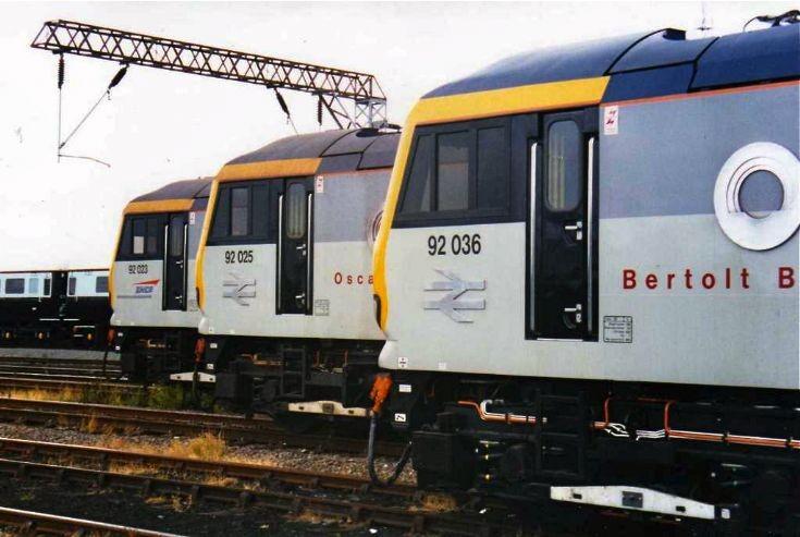 Crewe Railfair August 1995