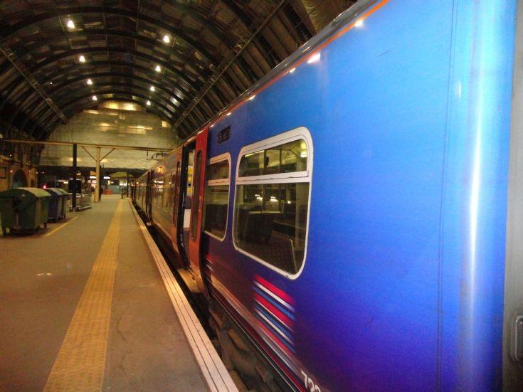 Bins, Train, Kings Cross