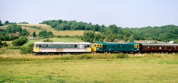 Diesel locomotives at Spa Valley Railway