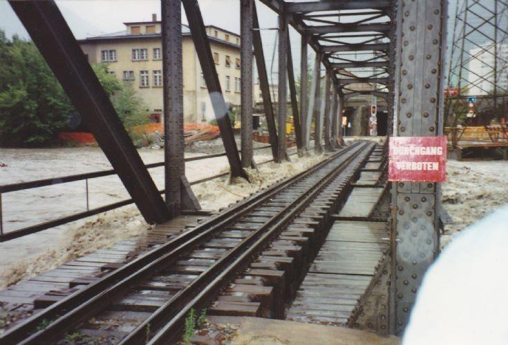 Furka-Oberalp line Brdge in to Brig