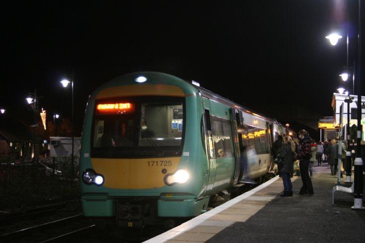 Southern Class 171 DMU at Rye