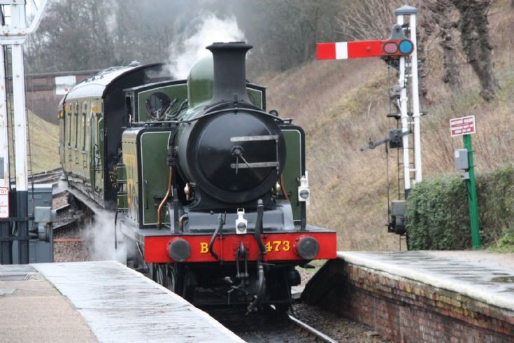 Bluebell Railway locomotive 473