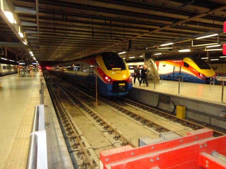 East Midlands Meridians at St.Pancras