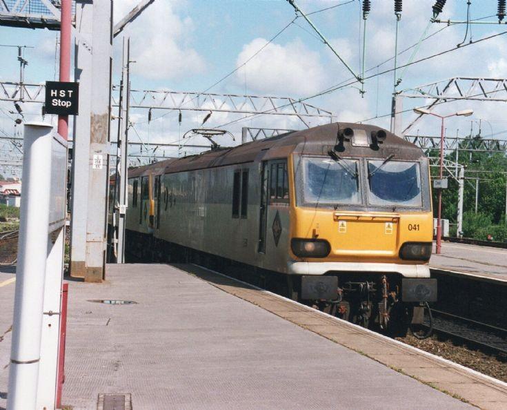 Crewe HST Stop