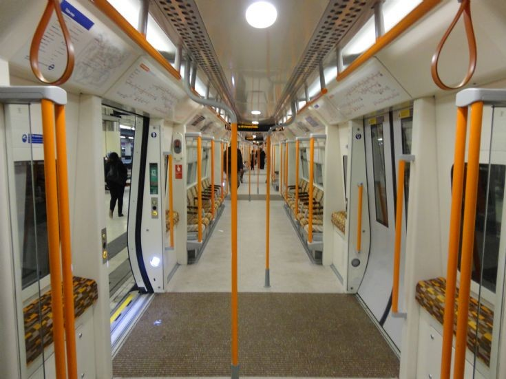London Overground Car Interior