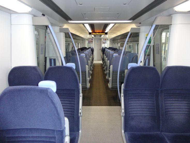 South Eastern High Speed - Car Interior